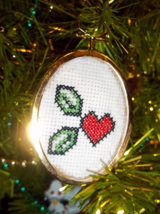 Zelda Berry Ornament - for Jenny