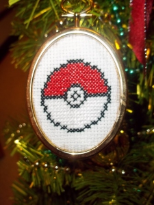 Pokéball Ornament - For Jakob