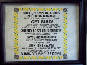 Cave Johnson's Lemon Rant
