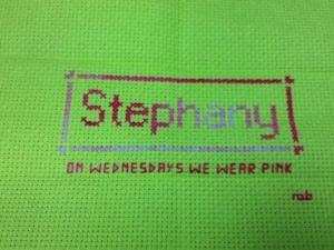 Stephany Nameplate
