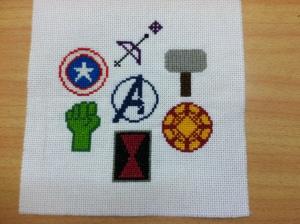 Avengers Symbols - Mini Swap 2013