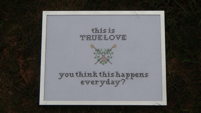 Wedding Stitches - Princess Bride