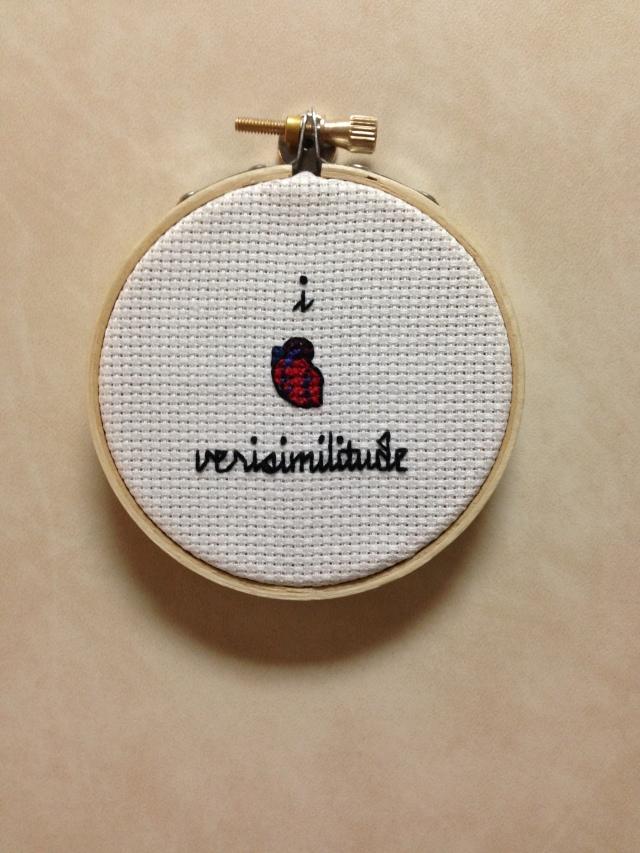 i [heart] verisimilitude