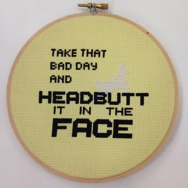 Headbutt That Bad Day