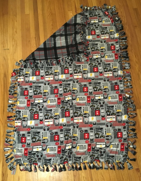 19 Video Game Blanket
