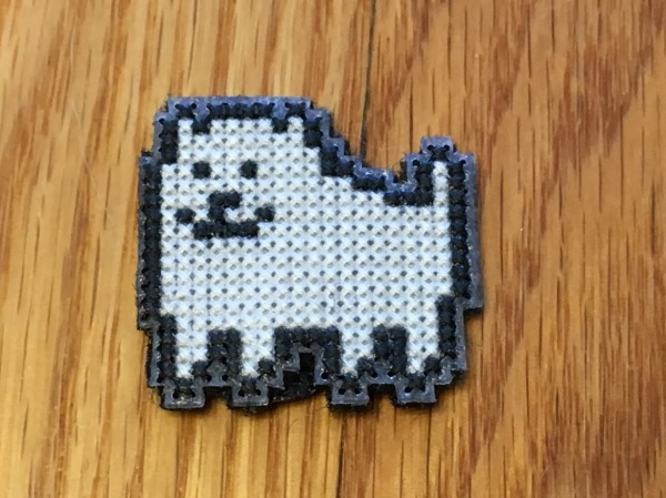 234 Annoying Dog Badge