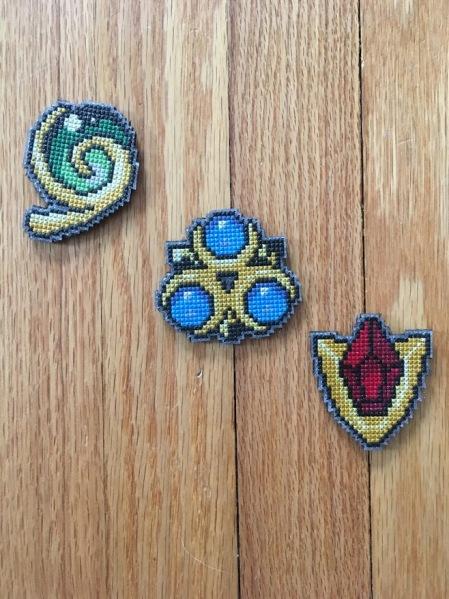 236 Spiritual Stone Badges